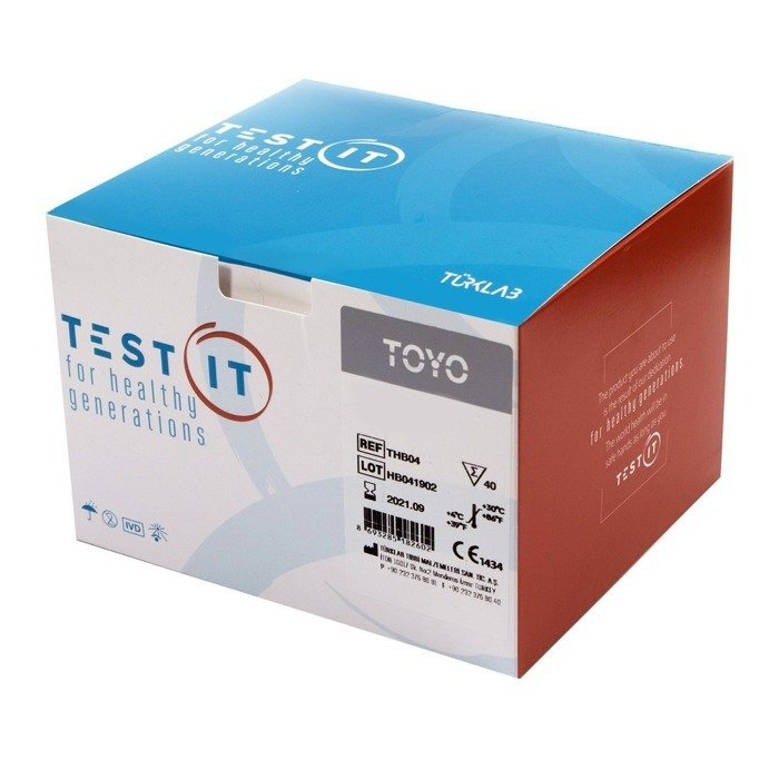 Anti-HCV TEST (40 testów) do wykyrwania antygenów HCV. Badanie z krwi pełnej, surowicy, osocza.